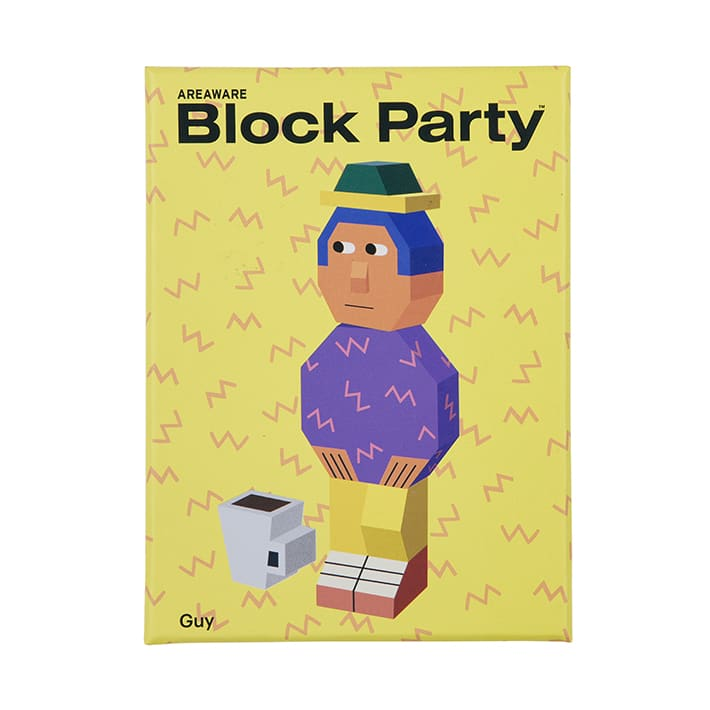 AREAWARE Block Party Guy