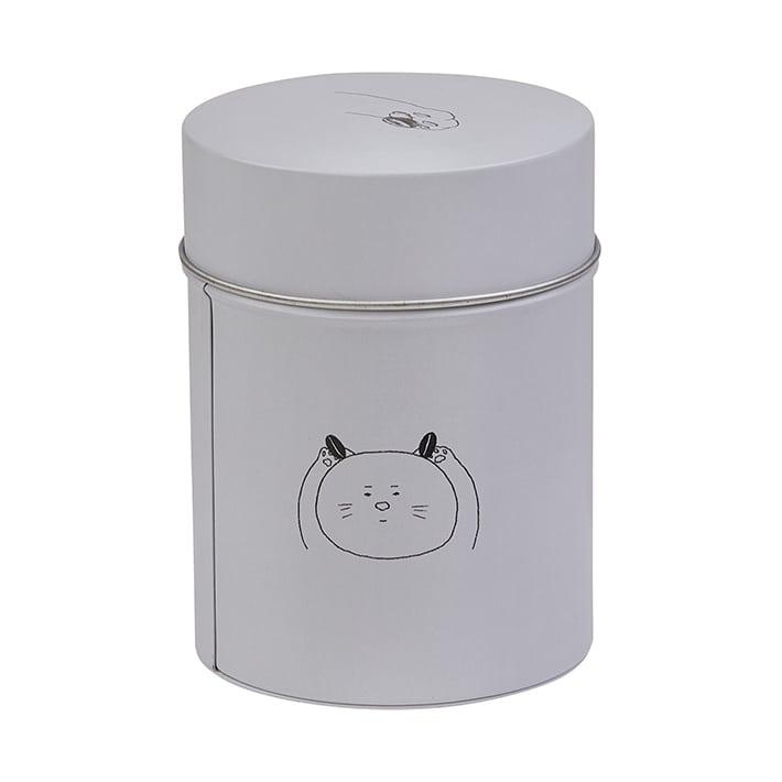 Coffee Canister Cat 和田淳 グレー