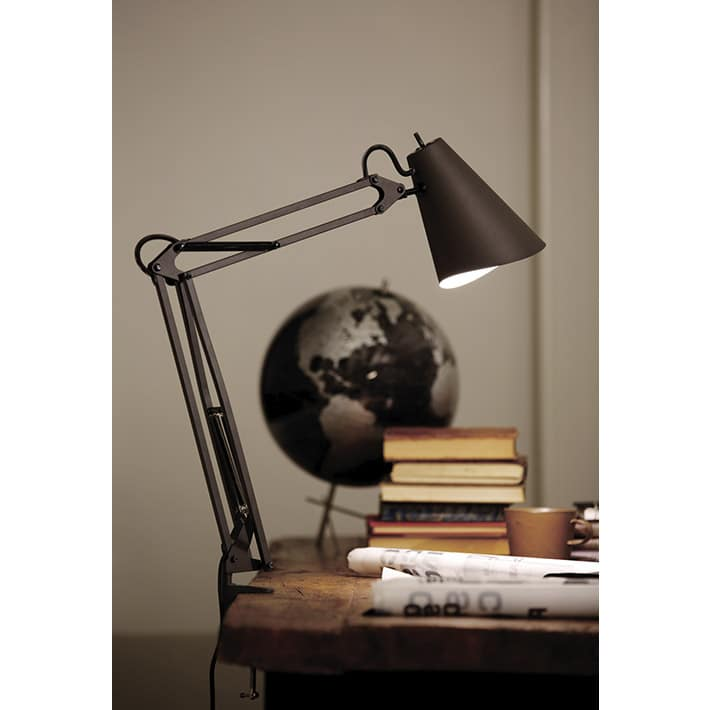 Snail desk-arm light