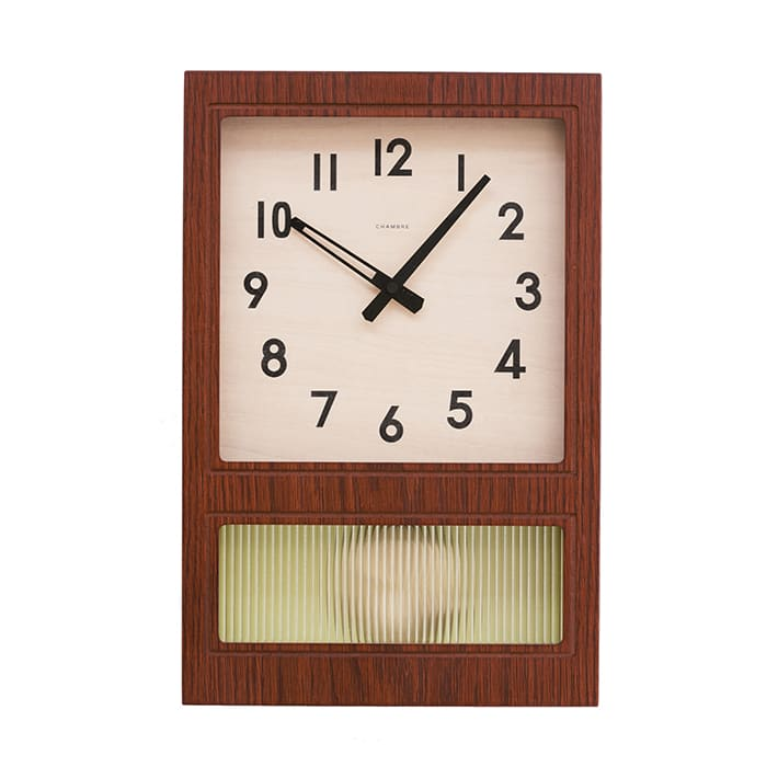 FROSTED PENDULUM CLOCK_#