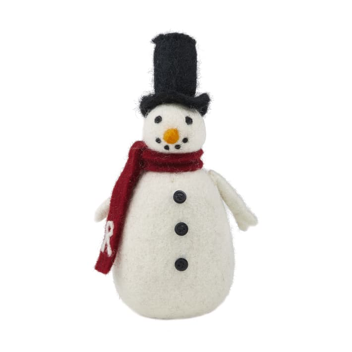 RUGGY'S SNOWMAN M RED