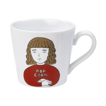 ENNUI MUG POP CORN