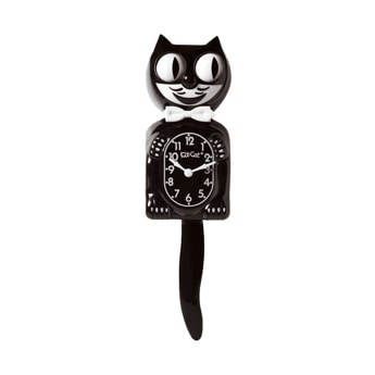KIT CAT KLOCK classic black