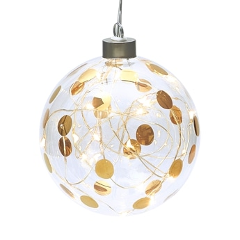 Lightning Bauble dots small