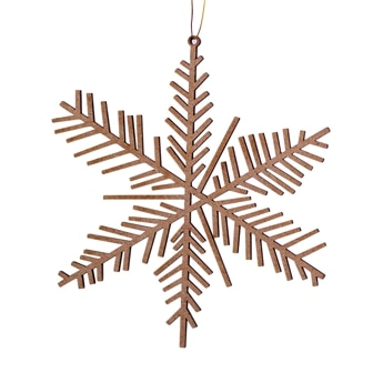Ice & Snow wooden Ornament small