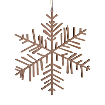 Ice & Snow wooden Ornament medium