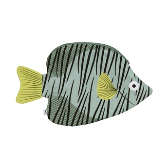 Butterfly Fish Green