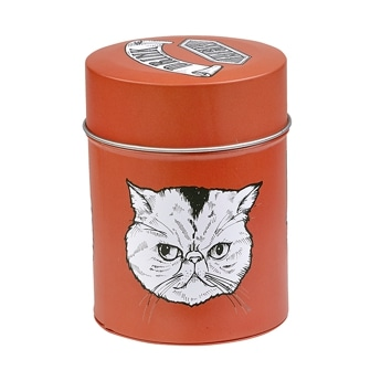 Coffee Canister Cat COOKIEBOY オレンジ